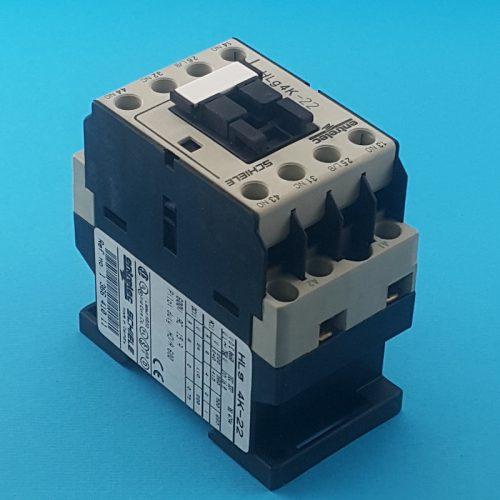 خرید کنتاکتور شیله و فروش کنتاکتور شیله 10 آمپر 4 کیلو وات 220 ولت AC